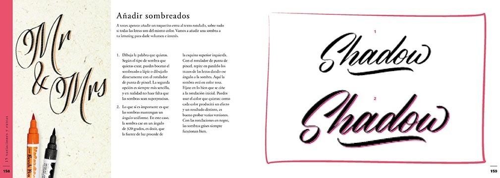 El libro Caligrafía Fácil no es un texto de primaria, te permite dominar técnicas de escritura como la caligrafía, lettering y otras texturas.