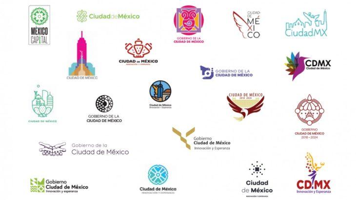 Dentro de los 20 finalistas, uno de estos pdría ser el nuevo logo de la CDMX que represente la administración de la futura jefa de gobierno Sheinbaum.