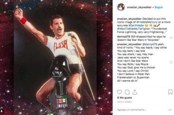 Los looks de Freddie Mercury eran asombrosos y llamativos, aún actualmente son un referente a la moda y la extravagancia del artista.