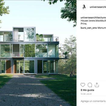 Tetris House es un diseño innovador en la arquitectura que le permite apilar bloques a tu gusto para tener una vista 360°.
