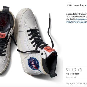 Con la colección de Vans Space Voyager, la marca celebra 60 años de historia que marcó la Nasa; incluye tenis, chamarras, playesas y mochilas.