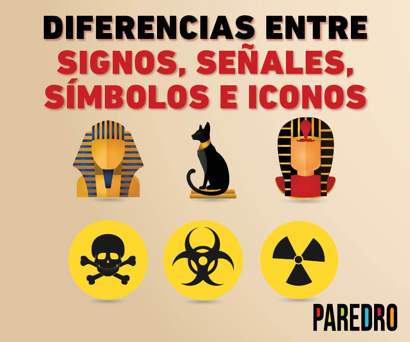 Diferencias entre signos, señales, símbolos e íconos