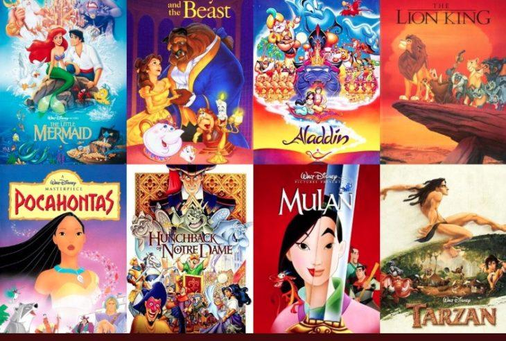 Los clásicos de Disney marcaron a más de 3 generaciones, ¿Conocen como eran los pósters originales cuando se estrenaron las películas?