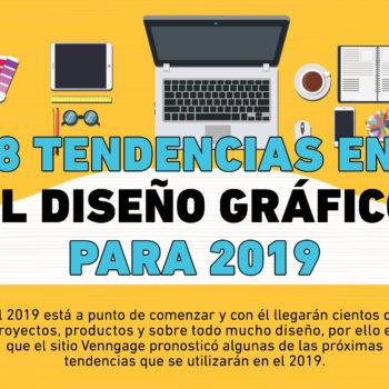 El año está por terminar y es momento de que conozcas las tendencias en el Diseño Gráfico para 2019 y seas de los primeros en usarlas.