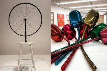 """El 2019 reunirá a Marcel Duchamp y Jeff Koons en el Museo Jumex en la exposición """"Apariencia Desnuda"""" que explora la similitudes de los artistas."""