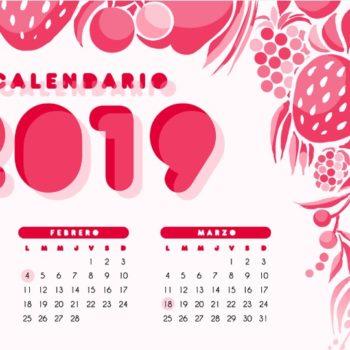 Si deseas enmarcar, personalizar o simplemente tener listo tu Calendario 2019 para recibir el año nuevo, aquí te dejamos algunas ideas.