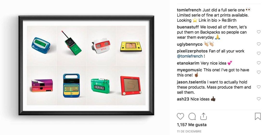 ¿Te imaginas como serían las Redes Sociales antes del Internet? El director creativo Thomas Ollivier combinó éstas con lo que se consideraría su precursor.
