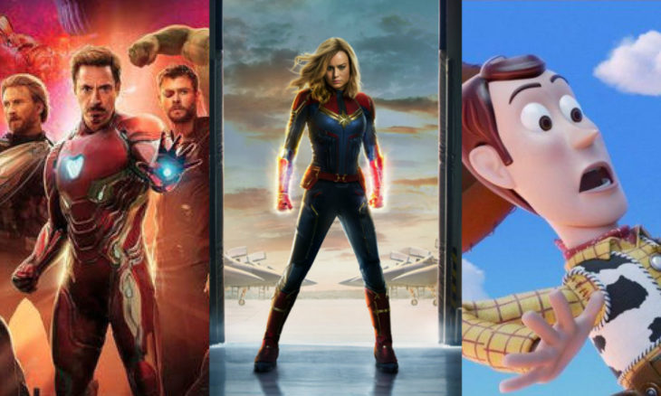 Las películas más esperadas para el 2019 son mayormente secuelas o live action, aunque existen otras originales que generan gran expectativa.