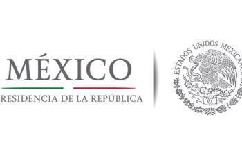 El logo del Gobierno de Enrique Peña Nieto continúo con la gama de cromática de antes del 2000. Un tanto sobria y minimalista.