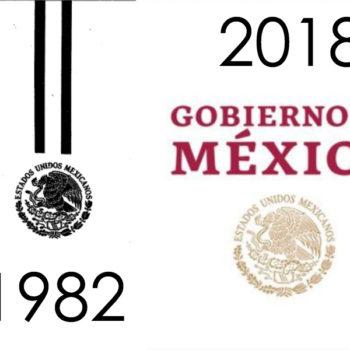 ¿Cómo han sido los logos de los últimos Presidentes de México? Desde Miguel de la Madrid (1982) hasta Andrés Manuel López Obrador (2018)