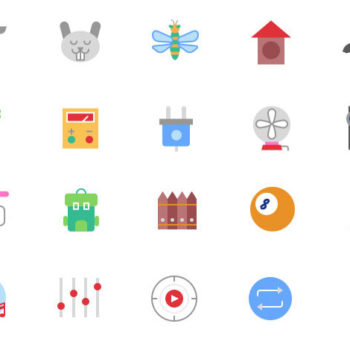 Estos iconos GRATIS son indispensables en tu banco de recursos gráficos. Contirene una gran variedad de categorías como animales, redes sociales, objetos.