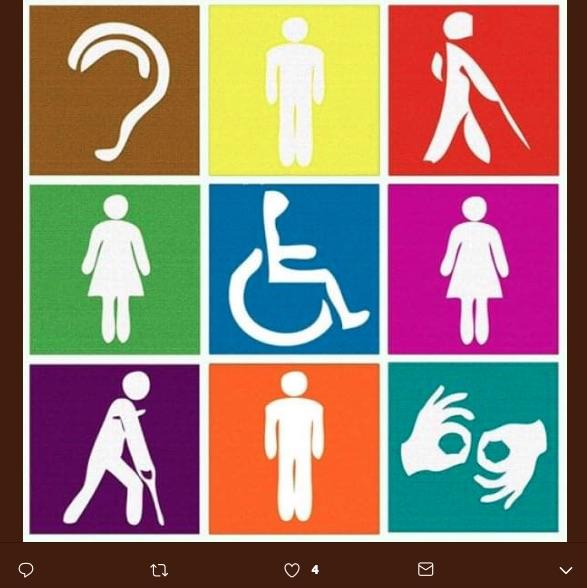 Las personas con discapacidad a menudo se enfrentan con obstáculos o dificultades que representan un reto para su condición.