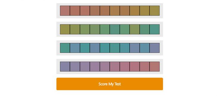 El Color IQ Test de Pantone es lo más parecido a un videojuego para diseñadores gráficos que al mismo tiempo mide tus habilidades con los colores.