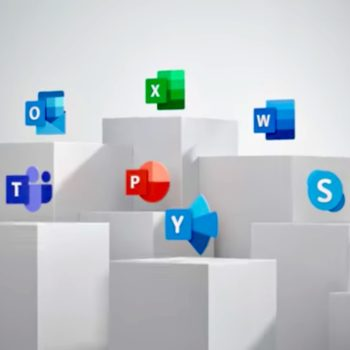 Los iconos de Office se rediseñaron por última vez en 2013, ésta es la nueva identidad que Microsoft le da a la paquetería en Windows 10.