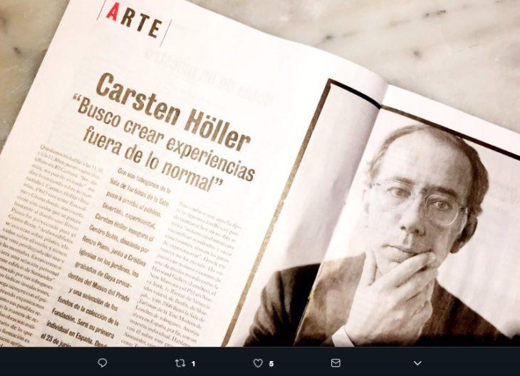 3f37227d53 El artista belga Carsten Höller en México es un sueño que el 2019 nos  cumple