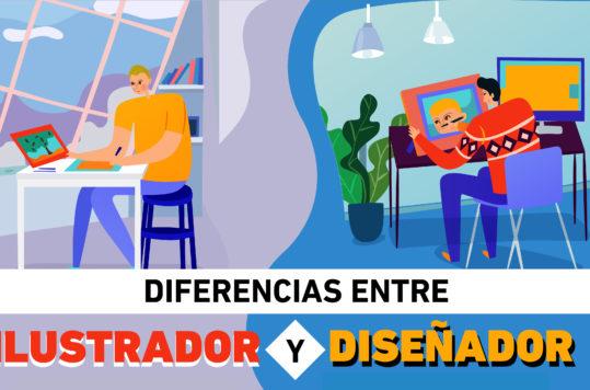 Aunque la confusión sea una constante en ambas disciplinas, existen diferencias entre Diseñador e Ilustrador, aquí te las decimos.