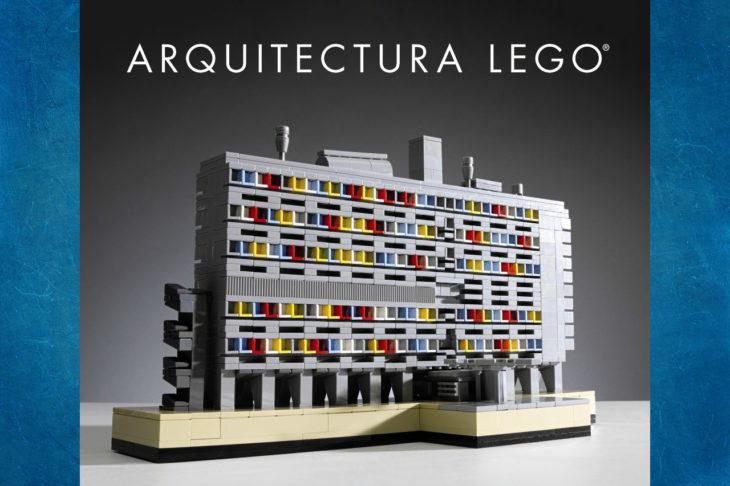 El libro Arquitectura LEGO de Tom Alphin te introduce al estudio de la disciplina al mismo tiempo que te muestra como crear tu propio edificio a escala.