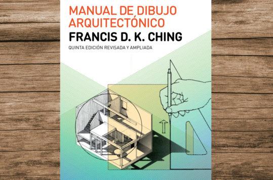 El Manual de Dibujo Arquitectónico es el libro que le otorgó reconocimiento a Francis D.K. Ching, quien es experto en métodos de dibujos para arquitectura.