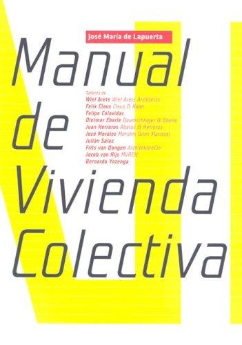 #LibroDelDía: Manual de Vivenda Colectiva de José Maria de Lapuerta