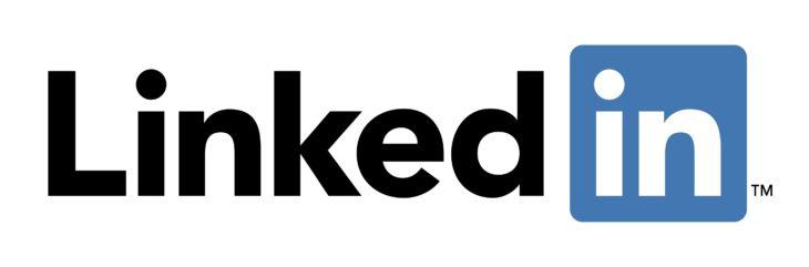 "El logo de LinkedIn es un emblema que está ""dentro"""