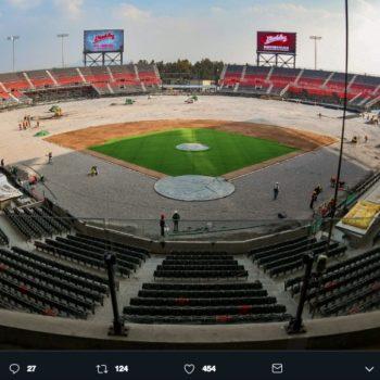 El nuevo estadio de los Diablos Rojos del México promete estar a la altura de la MLB, además de que mezcla grandes técnicas para crear algo único.