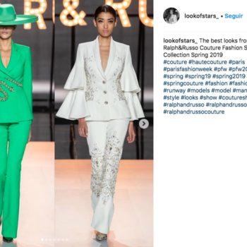 Ralph & Russo se inspiró en la diva de México de todos los tiempos, María Félix, para una asombrosa colección extravagante y elegante.