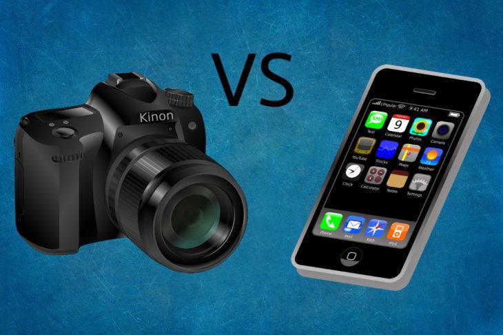 Smartphones vs Cámaras Profesionales. En la industria de la fotografía existe una disputa por el mercado, ¿quién está ganando? ¿quién desaparece?