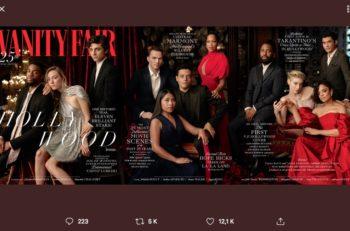 Vanity Fair Hollywood lanzó su edición #25, en la que Yalitza Aparicio aparece en la portada junto con otros nominados al Oscar.