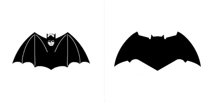 Los logotipos de Batman (35) siempre han representado perfectamente la personalidad del superhéroe, pero también las tendencias en diseño.