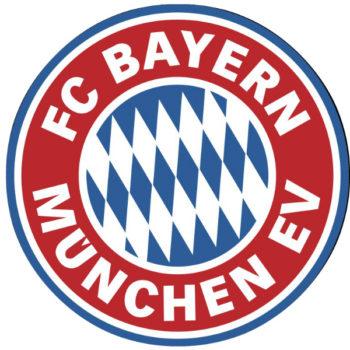 El logo del Bayern Múnich se ha modificado en muchas ocasiones debido a la gran cantidad de cambios que sufrió la ciudad, Europa y el club en sí.