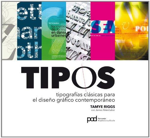 El libro Tipos: Tipografías Clásicas para el Diseño Gráfico Contemporáneo es una fuente de consulta para encontrar la tipografía adecuada para tú proyecto.