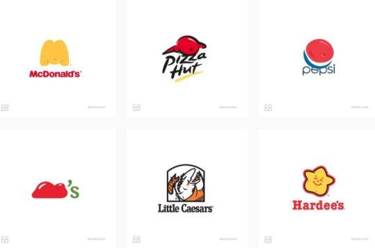 Estos logotipos de comida rápida fueron reconcebidos para mostrar la realidad de lo que provoca si se ingieren sin conciencia.