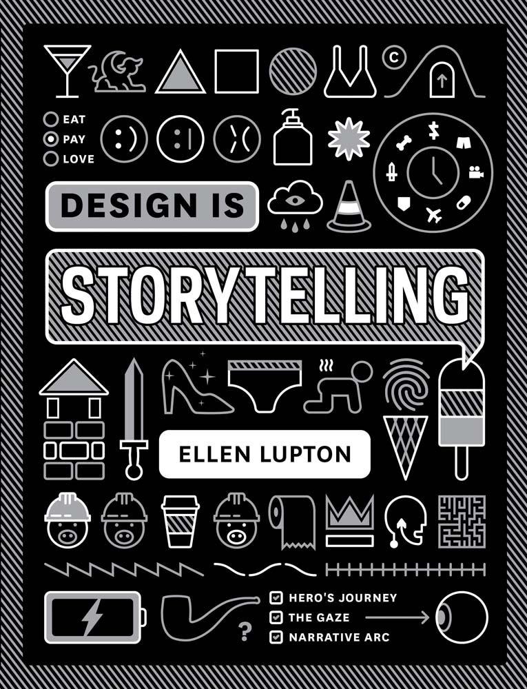 El libro Design Is Storytelling demuestra como la planificación de las ideas puede incrementar el impacto que tienen éstas en los proyectos.