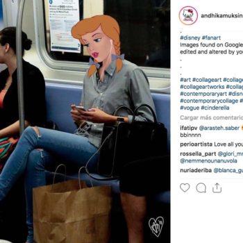 El artista Andhika Muksin mezcla Disney, famosos y situaciones reales en una sola imagen creando collages impresionantes y únicos.