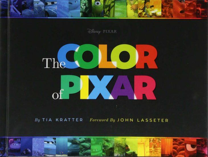 The Color of Pixar es un libro que recopila los mejores fotogramas de más de 20 películas del estudio y los presenta en un formato degradado.