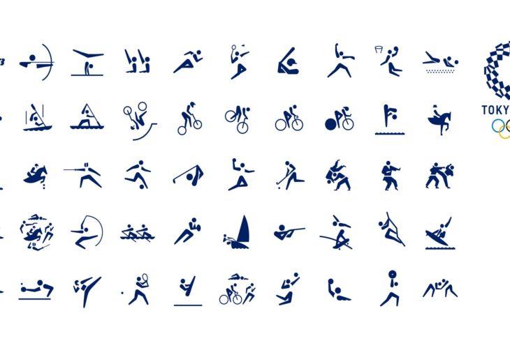 Los pictogramas de Tokio 2020 fueron diseñados por Masaaki Hiromura, éstos ayudan a identificar cada disciplina más fácil.