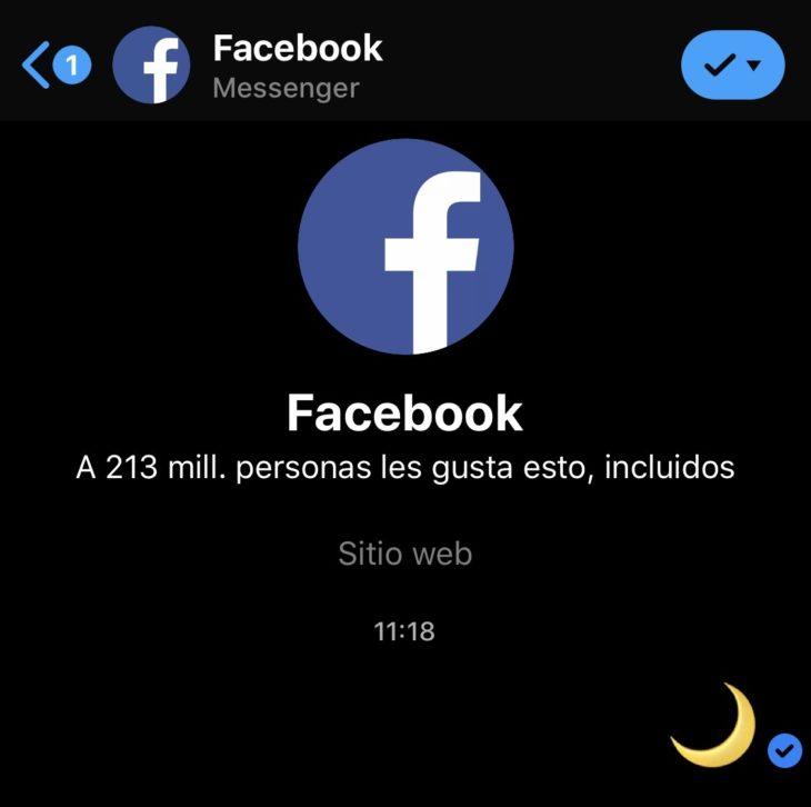 """Un nuevo """"truco"""" llegó a los smartphones, se trata de cómo activar el modo nocturno en Facebook Messenger para que la interfaz cambie a un tono oscuro."""