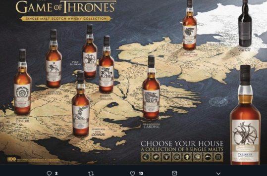 ¿Un Whisky de Game of Thrones? Así tu espera se hará un poco más ligera con la colección de ocho botellas que lanzó una productora, más una sorpresa.