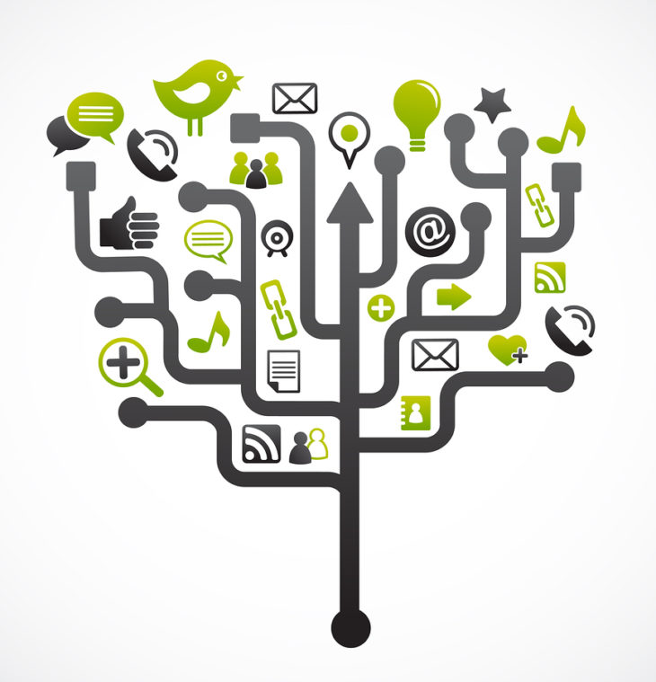 Entender cómo funcionan los algoritmos de las redes sociales ayudan a diseñar gráficos con el contenido adecuado para que se lean correctamente.