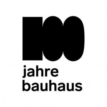 El logo bauhaus100 está creado específicamente para el centenario de la afamada escuela alemana de diseño, arquitectura y arte.