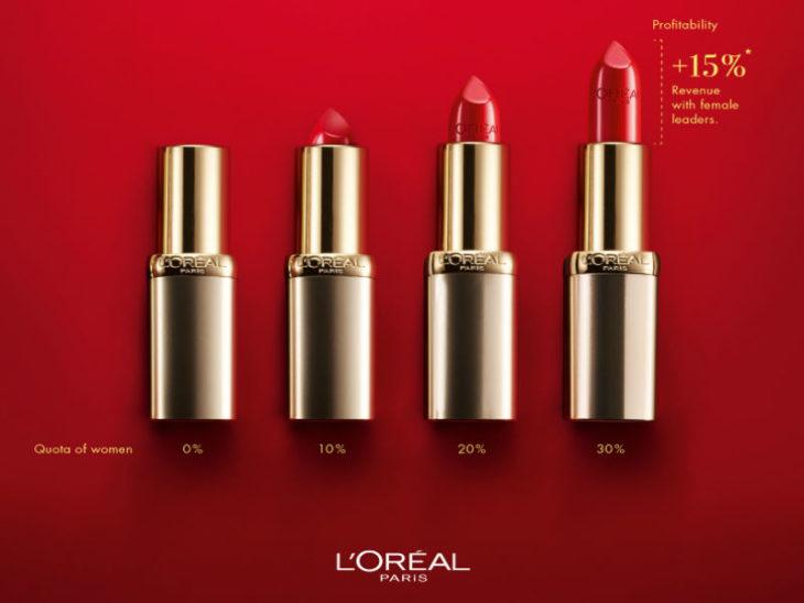 """""""Este anuncio es para hombres"""" es la nueva campaña de L'Oreal para mostrar la disparidad de oportunidades laborales entre mujeres y varones."""
