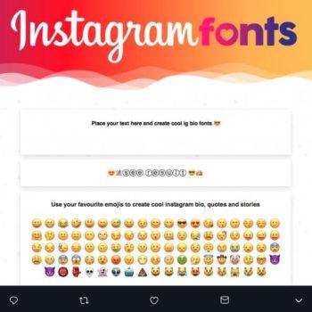 Estas aplicaciones de fuentes para Instagram te ayudarán a mejorar tus textos en redes sociales o donde sea que las uses | Sólo copia y pega.