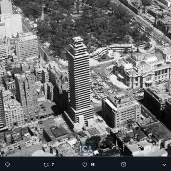 Hoy es el sexagésimo tercer aniversario de la Torre Latinoamericana desde su inauguración en 1956, es un edificio importante para la arquitectura mexicana.
