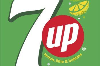 El logotipo de 7up se ha modificado en distintas ocasiones, pero conserva el título en la misma estructura y elementos desde 1936.