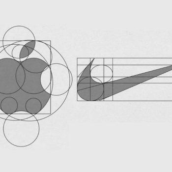 La anatomía de un logotipo te permite reconocer las medidas utilizadas en una cuadrícula para conservar las proporciones con las que fueron creadas.