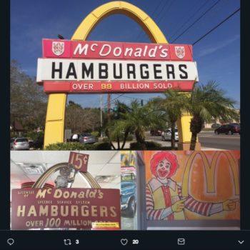 La identidad gráfica de McDonald's es una de las más reconocidas a nivel mundial por su combinación de color rojo y amarillo, ¿sabes cómo lucía antes?
