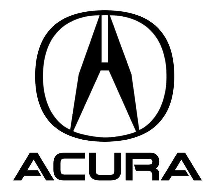 """El logotipo de Acura consiste en una letra """"A"""", pero también oculta una referencia a la marca Honda, su compañía matriz. 🚗"""