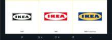 Hace unos días Ikea modificó su logo, pero a diferencia de los grandes rebranding, éste sólo sufrió cambios en las proporciones de sus elementos.