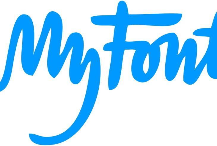 El logotipo de My Fonts pareciera una tipografía cursiva simple, pero tiene un significado más allá que refleja un aspecto manual.