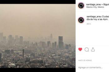 """La mala calidad del aire persiste en la Ciudad de México y algunos fotógrafos decidieron retratar una realidad bastante """"gris""""."""